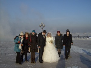 Crash a Russian wedding? Check!