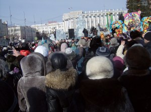 Yokhor flash-mob